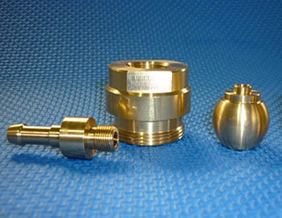 brass machining part