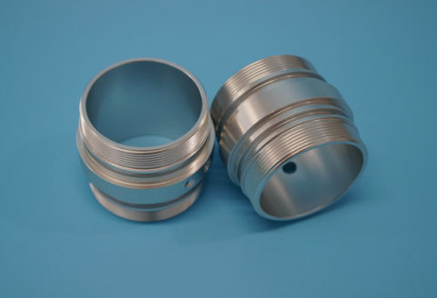 aluminum mount cap for lighting industry